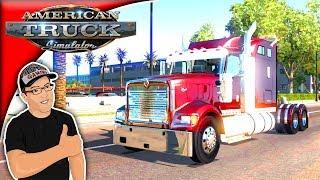 American Truck Simulator Mods International 9900i Mod Review