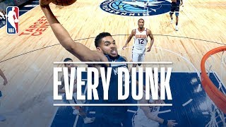 Karl-Anthony Towns, Trevor Booker, and Every Dunk From Sunday   November 26, 2017