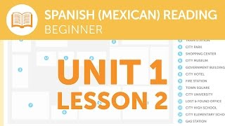 Mexican Spanish Reading for Beginners - Reporting a Lost Item at the Station