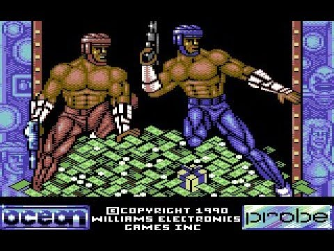Smash TV Review for the Commodore 64 by John Gage
