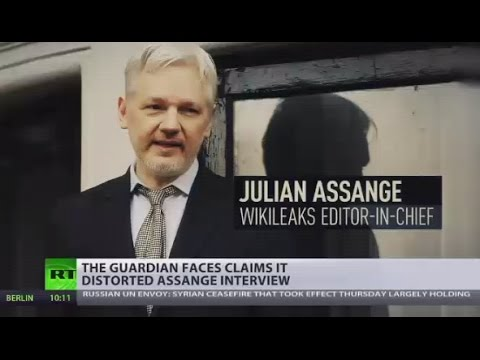 The Guardian faces claims it distorted Assange interview