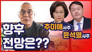 [사주풀이] '추미애 & 윤석열' 향후 전망은?!