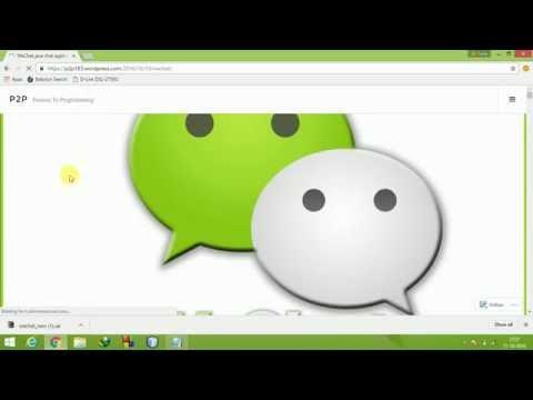 Wechat Java Chat Application Using Client Server Architecture