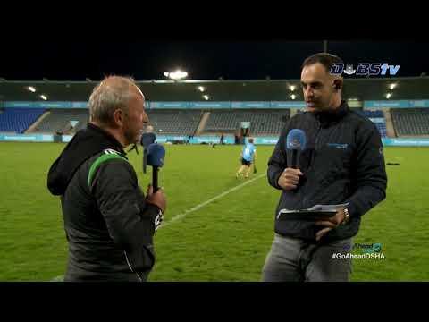 Lucan Sarsfields hurling manager Sean McCaffrey speaks to DubsTV after quarter final win