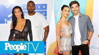 why kanye west loves trump bachelor in paradises ashley jared get engaged peopletv