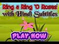 Ring A Ring O Roses With Hindi Subtitles Nursery Rhymes mp3