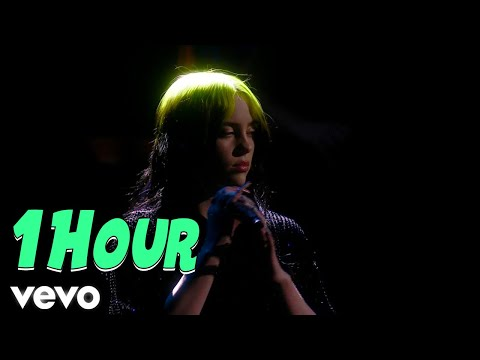 Billie Eilish - No Time To Die (Live 1 Hour) From The BRIT Awards, London