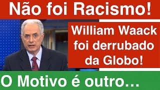 William Waack não foi afastado da Globo por Racismo! Também perdeu Programa Painel na Globo News