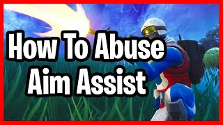 Fortnite How To Abuse Aim Assist! - How To Use Aim Assist In Fortnite!
