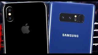 iPhone X VS Note 8 BATTLE ROYAL!