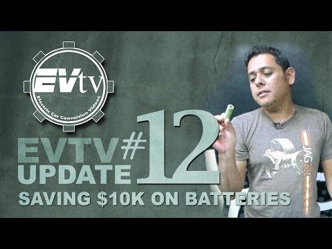 DIY EV lithium Batteries using recycled Tesla 18650 cells