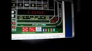 Bts $1000.00 An Hour Craps Table A.t.m. - The Ultimate Strategy  Info At:  Http:// Bettheseven.com