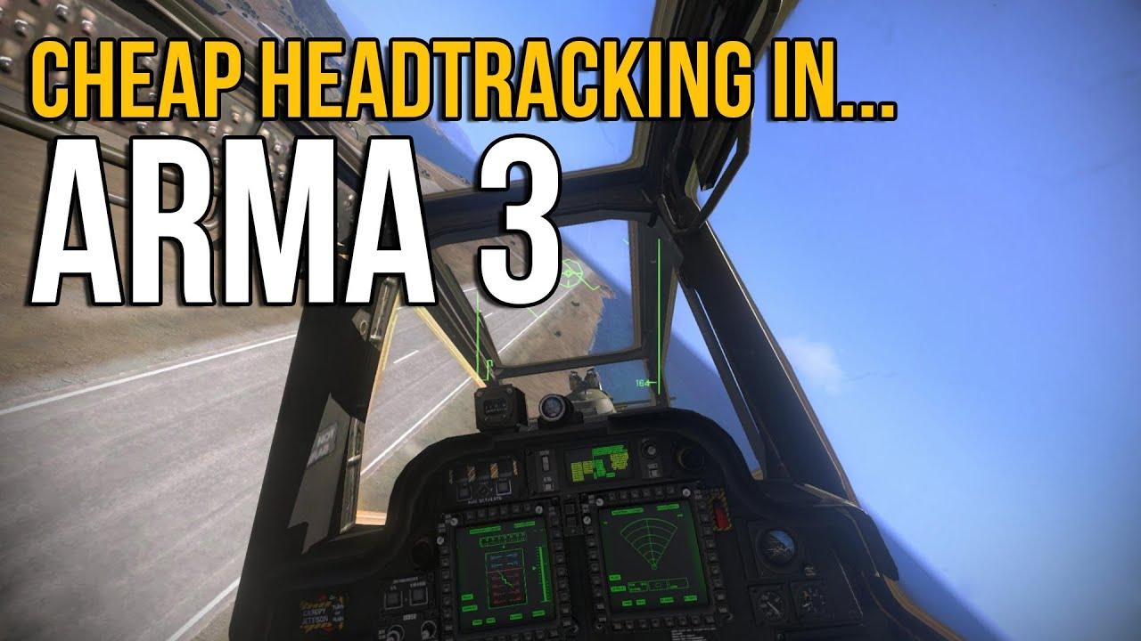 FaceTrackNoIR/FreeTrack in Arma 3 [TrackIR alternative ...