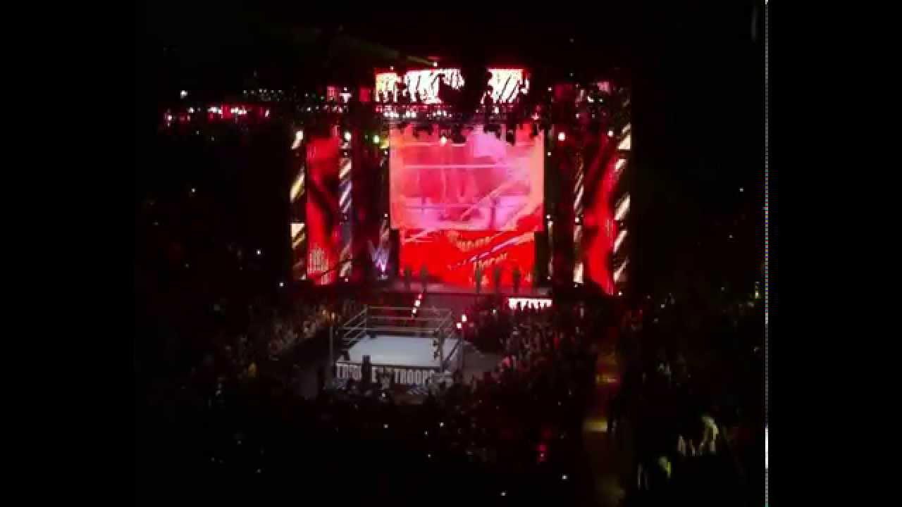 12/9/2014 WWE Tribute to the Troops (Columbus, GA) - Hulk ...