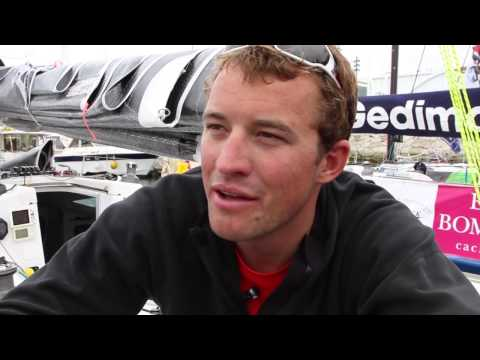Shelterbox skipper Sam Goodchild on his best Solitaire Leg result to date