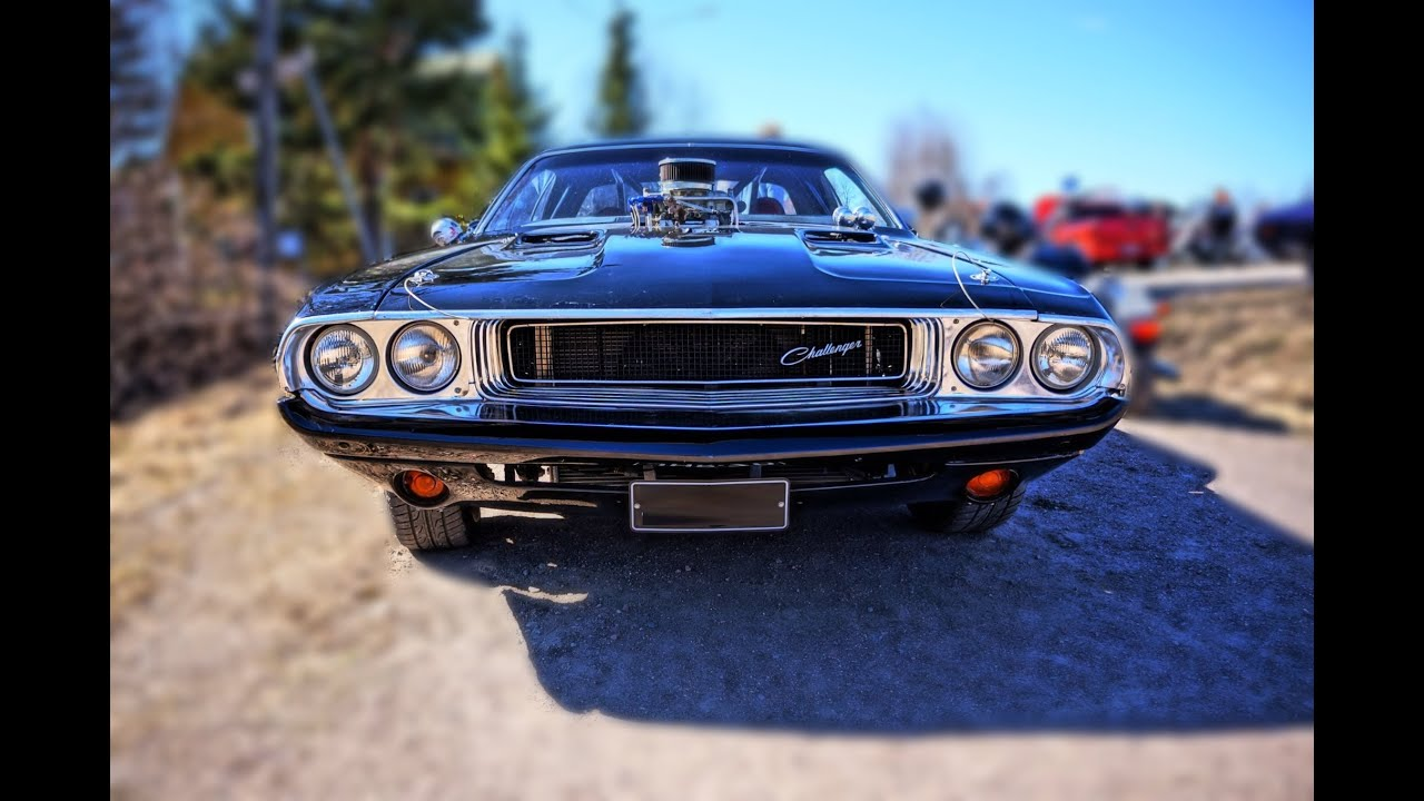 772hp Custom 1970 Dodge Challenger W Widest Rear Tires Ever V8