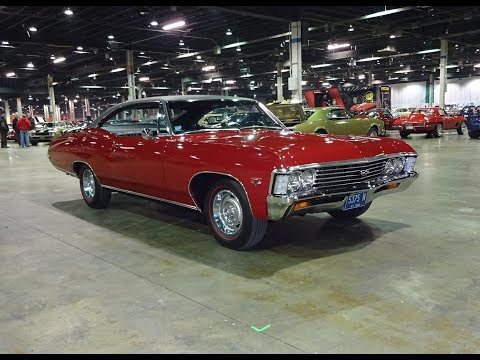 1967 Chevrolet Impala SS Super Sport in Red & 427 Engine Sound on My Car Story with Lou Costabile