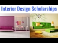 Interior Design Scholarships