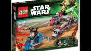 Lego Star Wars 2013 Winter Sets and 2013 Summer planet sets by Lego Maniac