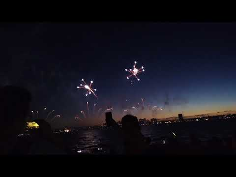 Australian Day 2018 Skyworks @ Perth City