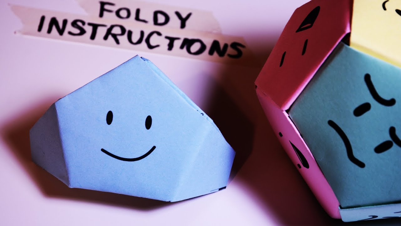 How to Fold your Foldy - ~