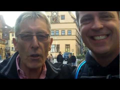 Chiropractic Business Consultant travels to Rothenburg Germany