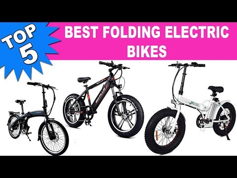 Top 5 Best Folding Electric Bikes 2020