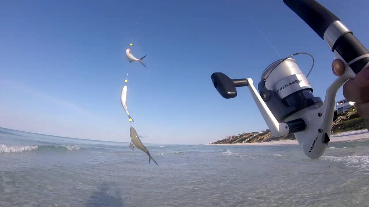 Surf fishing destin florida 2016 youtube for Surf fishing destin fl