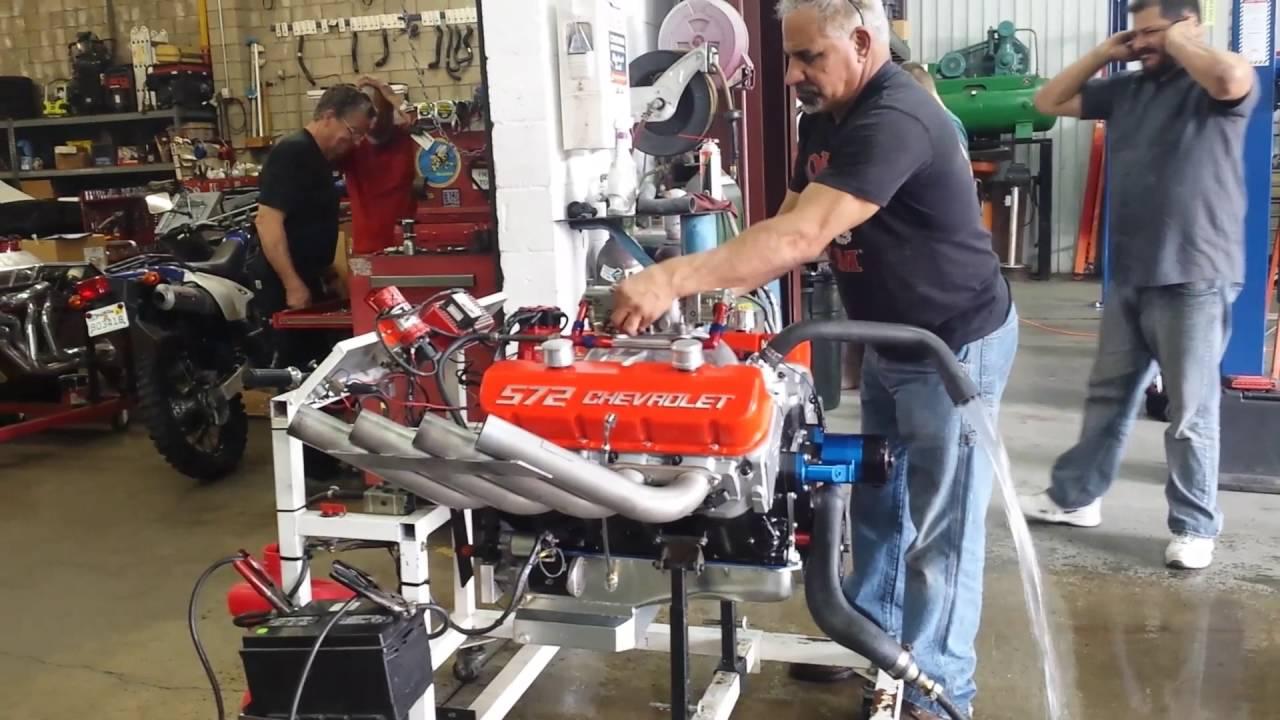 572 Chevy Engine Build