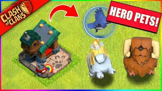 ...ALL NEW 'HERO PETS' COME TO CLASH OF CLANS!