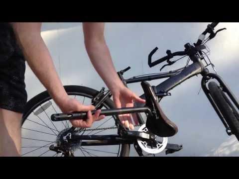 Bike Seat Post Tire Pump