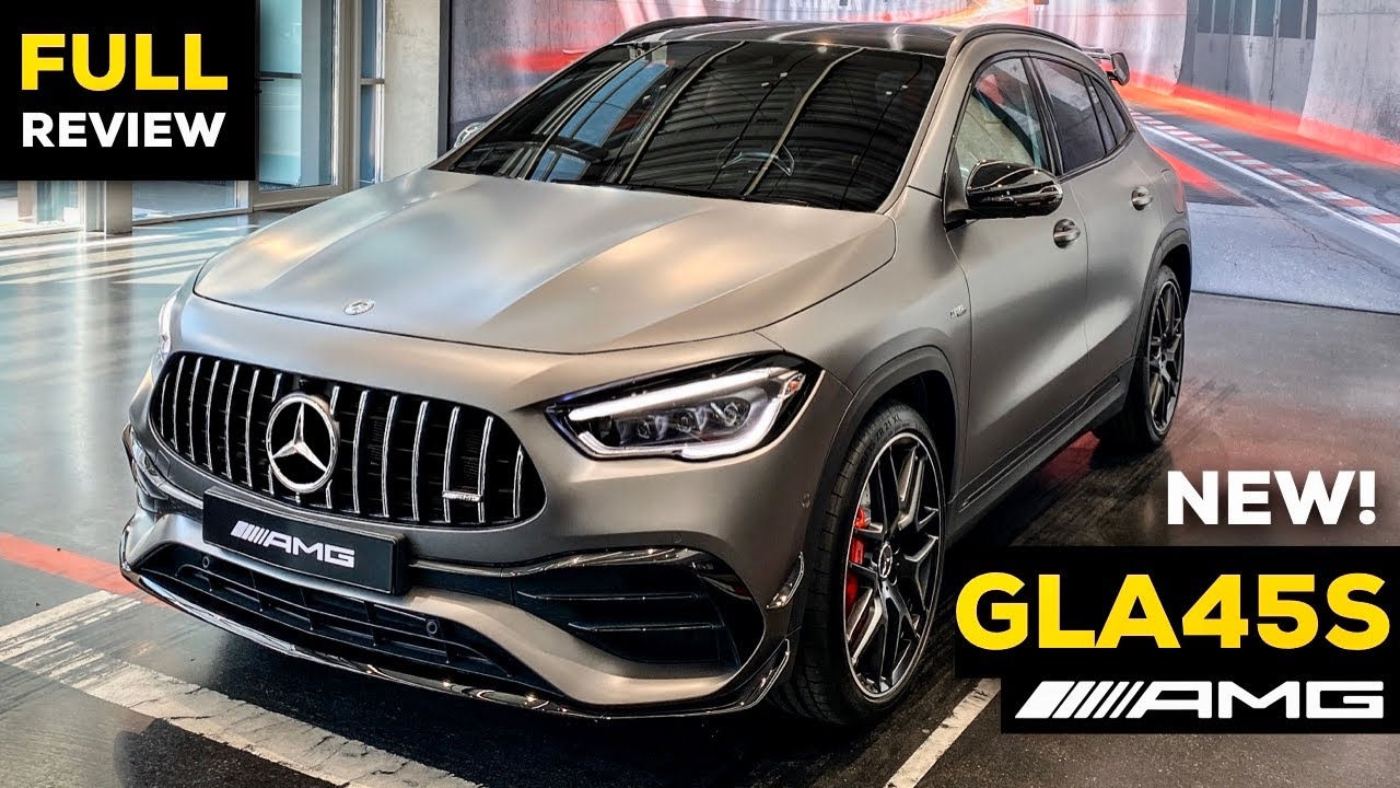 2021 MERCEDES GLA 45 S AMG Full Review BRUTAL 4MATIC+ Exterior Interior Infotainment
