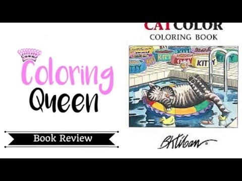Cat Color Coloring Book Review