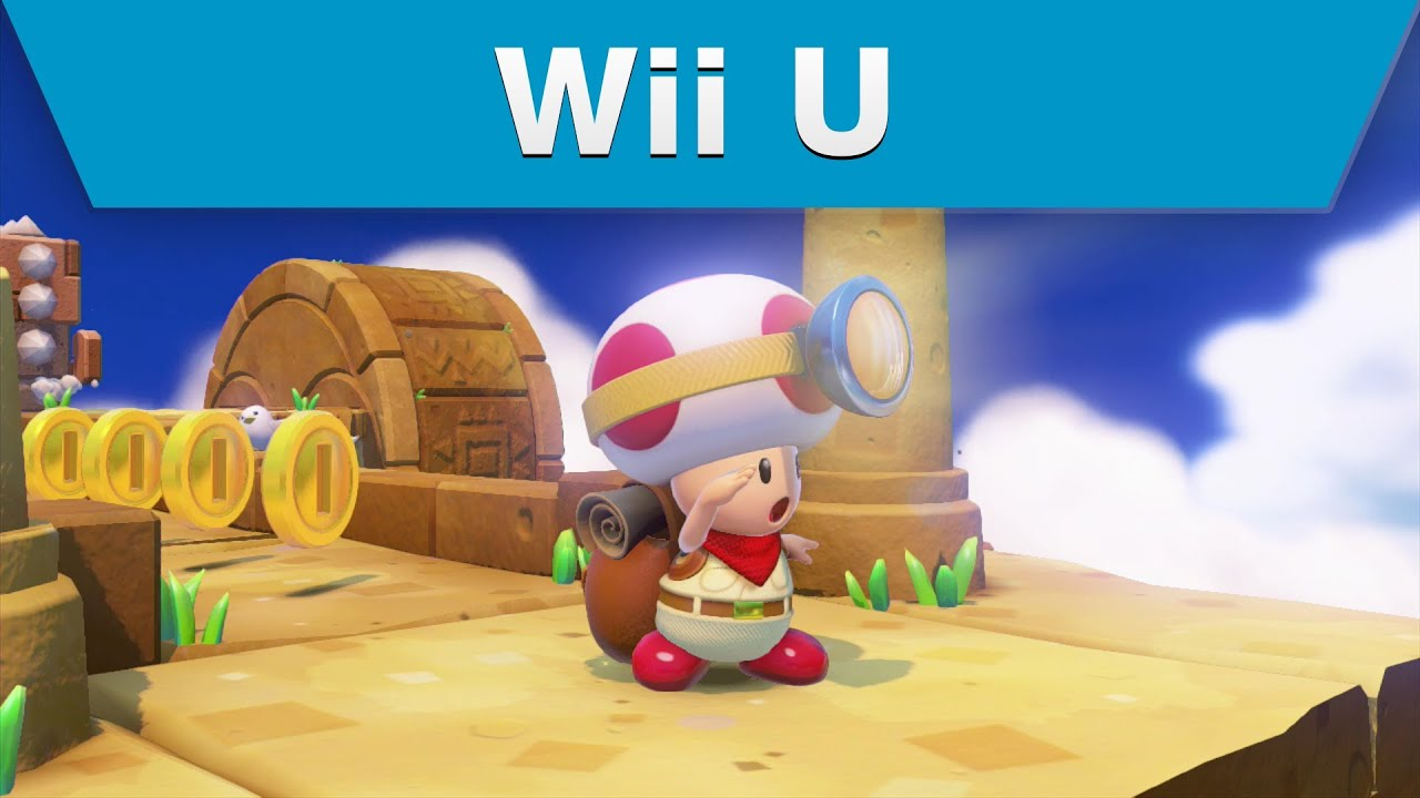 Wii u captain toad treasure tracker e3 2014 announcement trailer