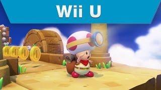 Wii U - Captain Toad: Treasure Tracker E3 2014 Announcement Trailer