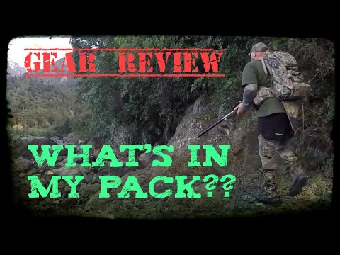 Hunting New Zealand. Gear Review. What I Take On The Hunt.