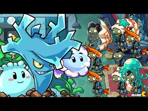 Plants vs Zombies 2 Online - New World East Sea Dragon Palace Unlocked All Plants!
