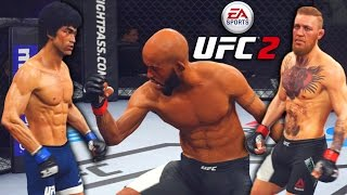 Crazy Finishes! Rocking Heads And Damaging Livers! EA Sports UFC 2 Online Gameplay