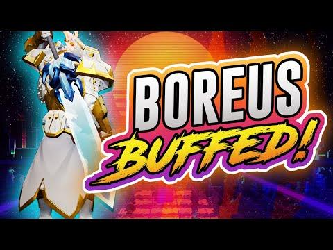 The Boreus Sword Buff Is Insanely Powerful - Dauntless Sword Build