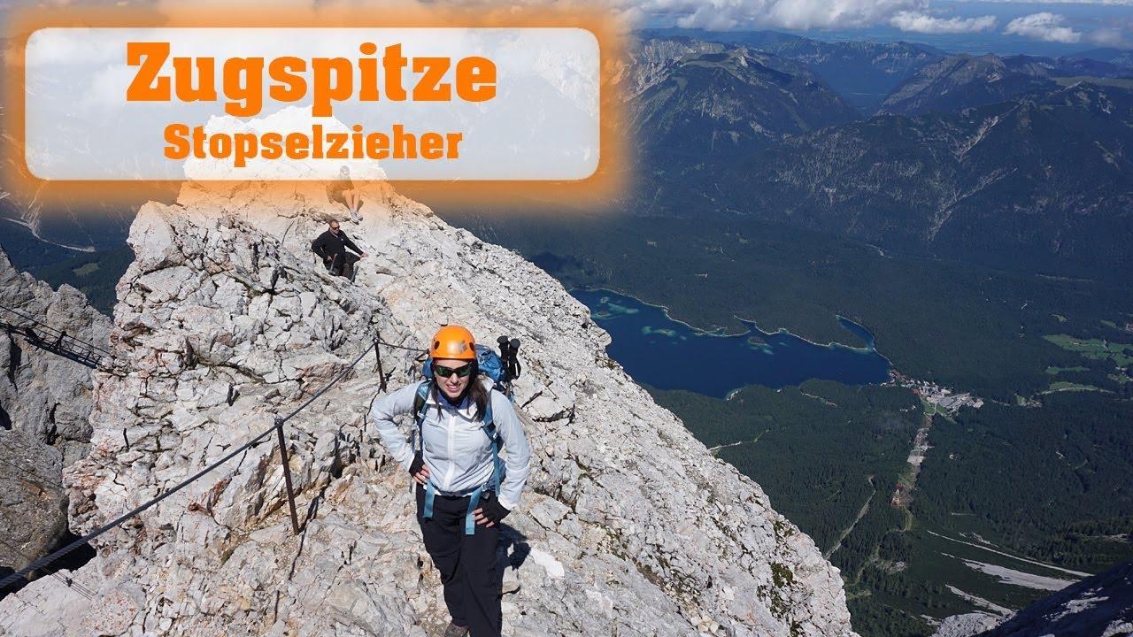 Klettersteig Zugspitze Stopselzieher : Traumhafte wanderung auf die zugspitze über den stopselzieher