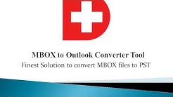 Convert Email Messages from MBOX files to PST for Outlook