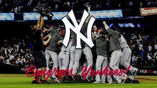Congrats, Yankees!