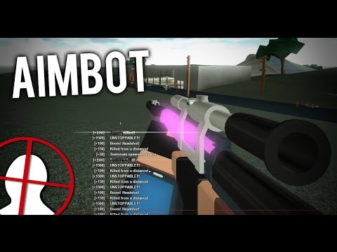 AIMBOT in ROBLOX PHANTOM FORCES... (Modded)