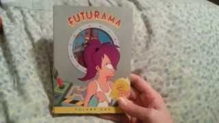 My MASSIVE DVD Collection Show & Tell - FUTURAMA & MORE January 2015