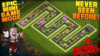 Clash of Clans | TH9 Mini Game Base | Snake | Epic Game Mode + Funny Fails [Friendly Battle 2016]