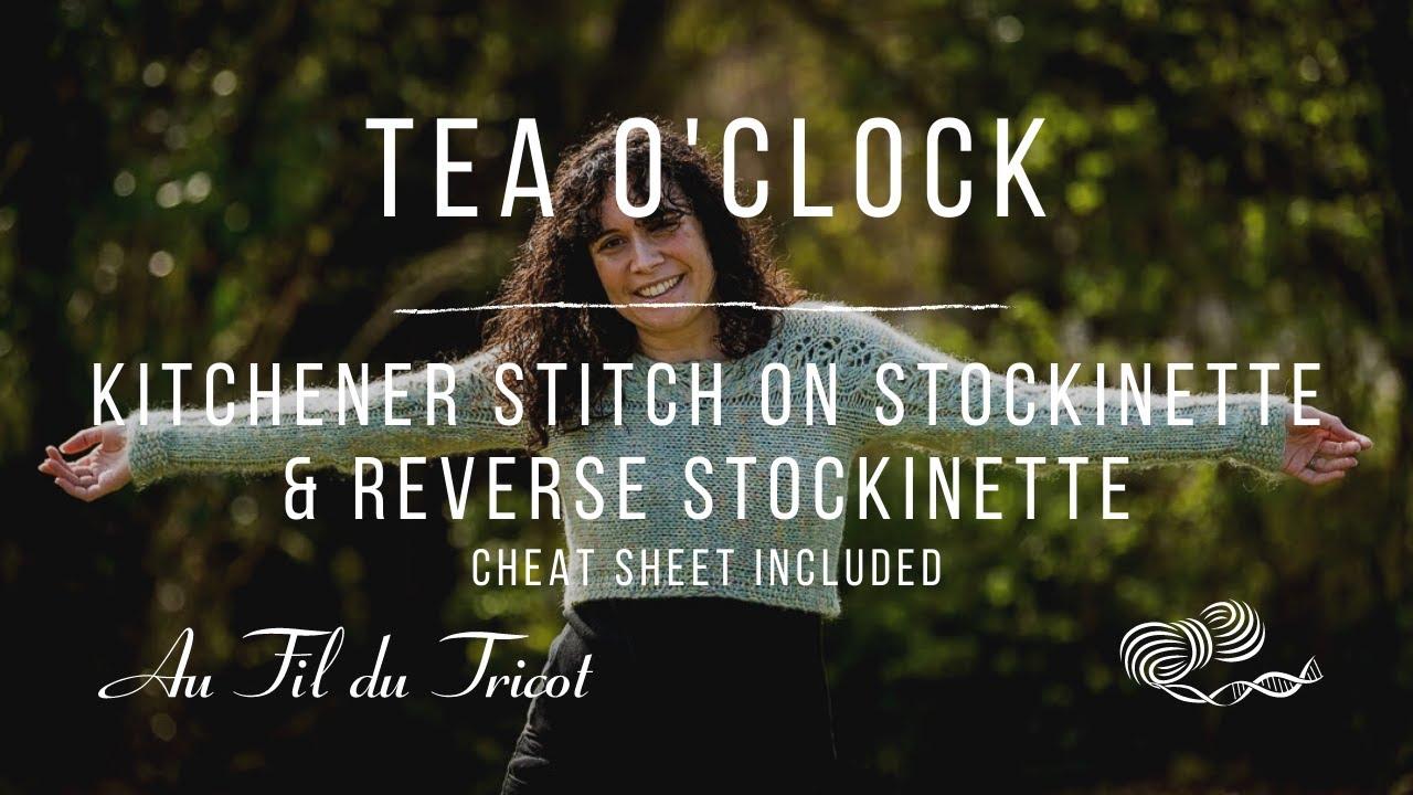 How to make the Kitchener Stitch
