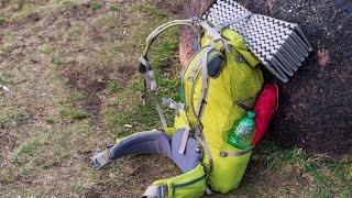 Trekking Ausrüstung   Sehr leichter Trekkingrucksack für eine mehrtägige Wanderung
