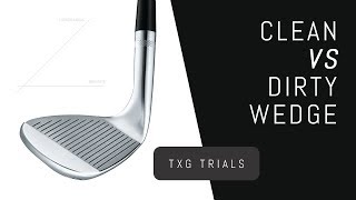 Spin Test – Clęan Wedge VS Dirty Wedge