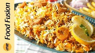 Jhinga BiryaniPrawn Biryani Recipe By Food Fusion