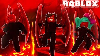 WE BECOME DEMONIOS in ROBLOX😈